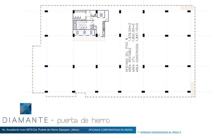 DIAMANTE PUERTA DE HIERRO 12