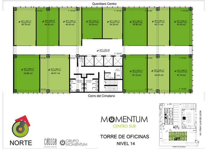 Momentum Centro Sur 15