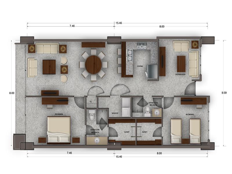 Habitat Arboleda 10