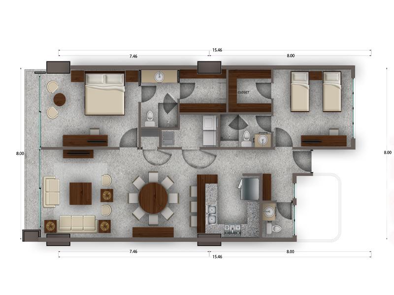 Habitat Arboleda 11