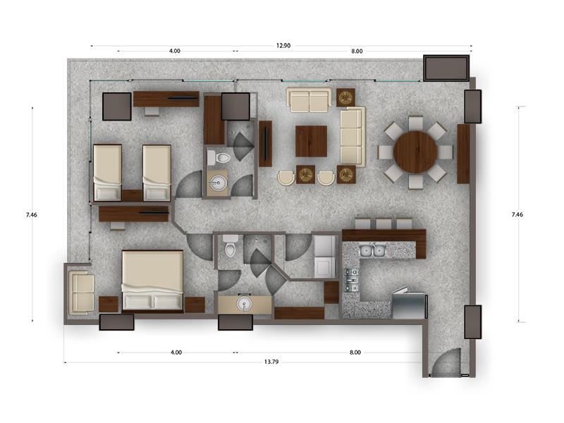 Habitat Arboleda 12