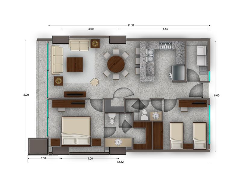 Habitat Arboleda 13