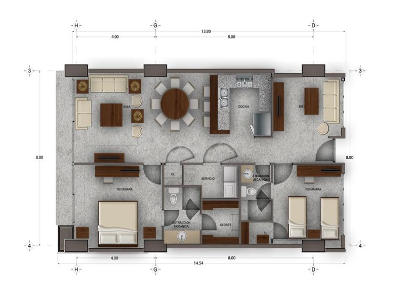 Habitat Arboleda 15