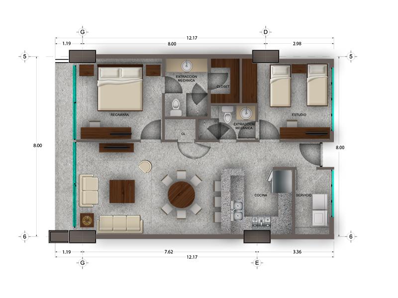 Habitat Arboleda 16