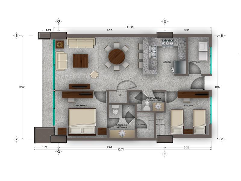 Habitat Arboleda 17