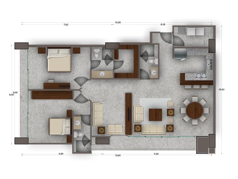 Habitat Arboleda 18