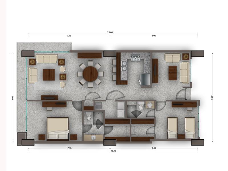 Habitat Arboleda 9