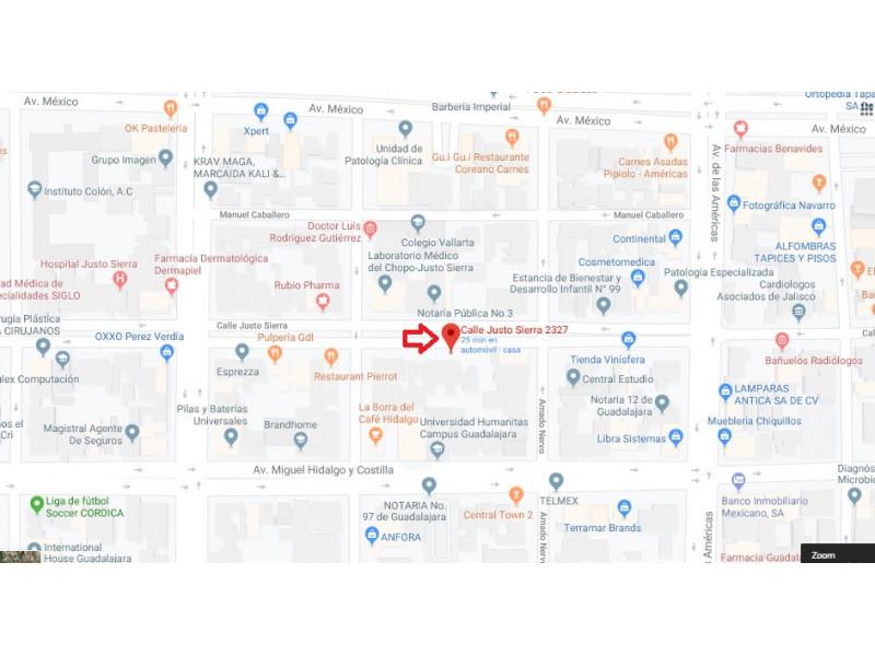Casa sobre Avenida con uso de suelo mixto  506m2 de terreno  $20,000,000 Propiedad  sobre avenida, ideal para oficinas, comercio,  negocio  y para construir departamentos, ya tiene autorizados 3240m2 de construcción para uso plurifamiliar vertical y para comercios y servicios intensidad media y baja . Tenemos otra propiedad sobre avenida misma zona de 750m2 en $24,000,000    Tenemos más de 10,000 Propiedades, visita nuestra Página web www.capriori.com o mándanos un mensaje por WhatsApp al:  3315668315. Nos puedes marcar mismo número, trabajamos de lunes a domingo. Si quieres vender o rentar tu propiedad también podemos ayudarte, sin exclusiva, plazos y comisiones negociables.  1