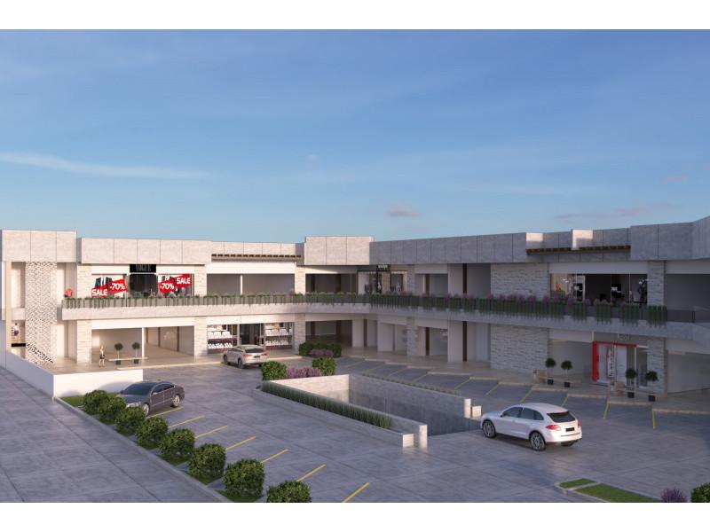 Plaza comercial en construccion, entrega Abril del 2018, estilo modernista, con 2 niveles de estacionamiento y 22 locales comerciales en renta, reestriccion unicamente en giros de restaurante y no se permiten giros repetidos.                                                                                                                   1