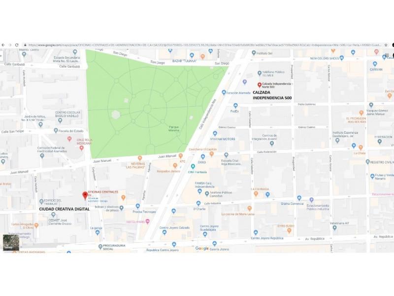 Local Bodega Renta Sobre Calzada Independencia, Guadalajara Bodega o Local comercial con una superficie aproximada de 5,807 mts techados más 3,920 mts de estacionamiento. Excelente oportunidad para crecer tu negocio o hacerle una sucursal, ya que cuenta con un flujo vehicular importante, así como de transporte público. Algunos de los atractivos son la cercanía que tiene a Ciudad Creativa Digital, que es un proyecto Federal, del Gobierno de Jalisco, algunas cámaras y empresas privadas que buscan la renovación del entorno urbano para crear un espacio idóneo para el desarrollo de las personas, generar un escenario moderno e interconectado donde el talento y la creatividad generen conocimiento, impulsando el uso de nuevas tecnologías y mejorando la calidad de vida en la Zona Metropolitana de Guadalajara.  2