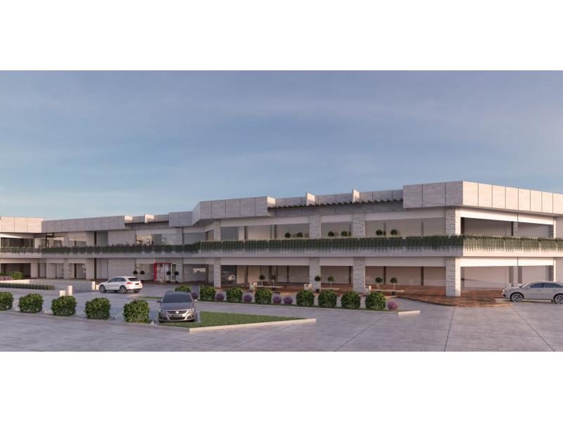 Plaza comercial en construccion, entrega Abril del 2018, estilo modernista, con 2 niveles de estacionamiento y 22 locales comerciales en renta, reestriccion unicamente en giros de restaurante y no se permiten giros repetidos.                                                                                                                   2