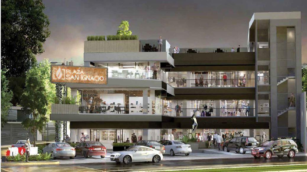 Plaza B San Ignacio es un concepto inmobiliario de uso comercial desarrollado por BRADA Grupo Inmobiliario, el cual integra la armonía en cada detalle. Ubicada en una de las zonas de gran plusvalía dentro de la zona metropolitana de Guadalajara, como lo es la colonia Chapalita, B Plaza San Ignacio concentra en sus alrededores la mejor oferta de restaurantes, cafés, escuelas, hospitales y muchos más. Cuenta con 1235.44 m2 de construcción, divididos en 18 locales distribuidos en los tres niveles además del Roof Garden, un estacionamiento amplio de 235 m2. Fecha de entrega: diciembre 2020. EasyBroker ID: EB-DZ5477 1