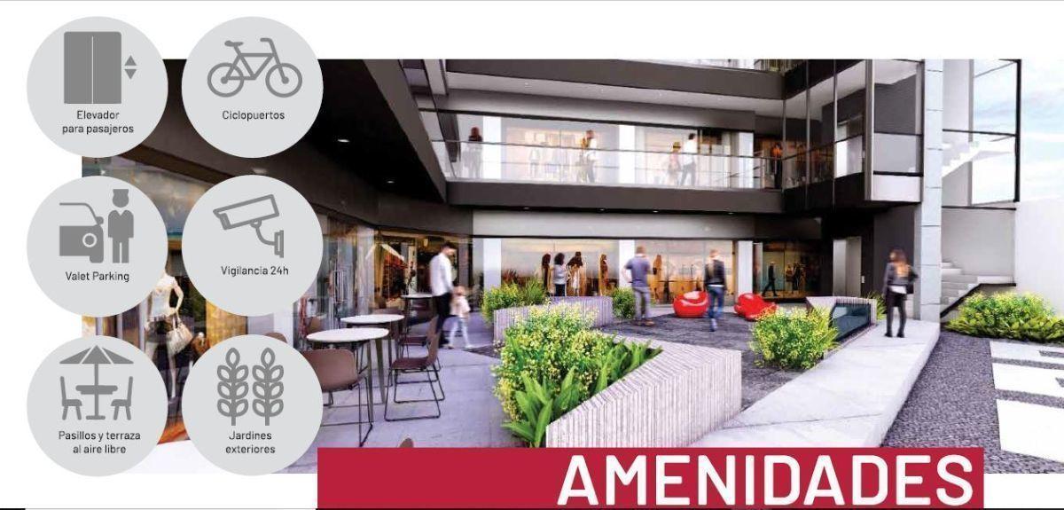 Plaza B San Ignacio es un concepto inmobiliario de uso comercial desarrollado por BRADA Grupo Inmobiliario, el cual integra la armonía en cada detalle. Ubicada en una de las zonas de gran plusvalía dentro de la zona metropolitana de Guadalajara, como lo es la colonia Chapalita, B Plaza San Ignacio concentra en sus alrededores la mejor oferta de restaurantes, cafés, escuelas, hospitales y muchos más. Cuenta con 1235.44 m2 de construcción, divididos en 18 locales distribuidos en los tres niveles además del Roof Garden, un estacionamiento amplio de 235 m2. Fecha de entrega: diciembre 2020. EasyBroker ID: EB-DZ5477 3