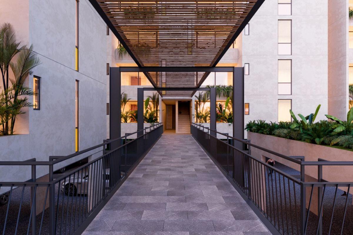MLS-DCA215  Condo de 2 Recamaras en Arbolada, Cancun  40 Condos Ubicados en la nueva fase de Arbolada Residencial, donde se vive y se disfruta la verdadera naturaleza de Cancún.  Combina lo increible de la naturaleza con lo emocionante del diseño.  - Equipados con todo lo que se necesita para las comodidades de la vida diaria. - Acabados de lujo, con espacios 100% funcionales. - Sala / comedor con cocina integral. - Cubiertas de mármol y granito en baños y cocina. - Carpintería de diseño. - Dos recamaras y dos baños completos. - Diseño de iluminación a base de LEDs  Amenidades  - 50% Áreas verdes. - Alberca con calentadores solares. - Acceso controlado. - Circuito cerrado de vigilancia. - Vigilancia las 24 hrs. - Wi Fi en áreas comunes. - BBQ y Bar Área.   Disponibilidad:  2 Recamaras 2 Baños Balcon 70 m2 Precio: $ 2'055,391 MXN ( $ 108,200 USD).  El precio puede cambiar de acuerdo a la disponibilidad, demanda y al avance de la obra, contactanos para confirmar el precio actual. EasyBroker ID: EB-EH4743 13
