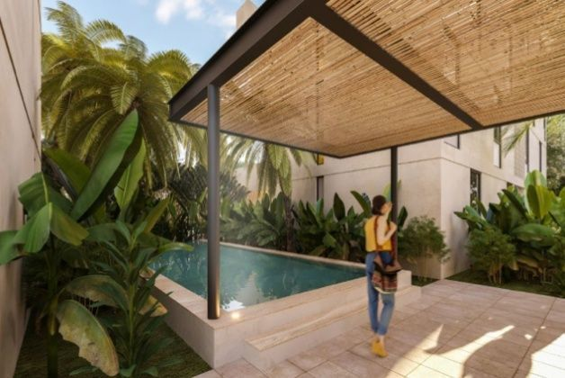 MLS-DCA215  Condo de 2 Recamaras en Arbolada, Cancun  40 Condos Ubicados en la nueva fase de Arbolada Residencial, donde se vive y se disfruta la verdadera naturaleza de Cancún.  Combina lo increible de la naturaleza con lo emocionante del diseño.  - Equipados con todo lo que se necesita para las comodidades de la vida diaria. - Acabados de lujo, con espacios 100% funcionales. - Sala / comedor con cocina integral. - Cubiertas de mármol y granito en baños y cocina. - Carpintería de diseño. - Dos recamaras y dos baños completos. - Diseño de iluminación a base de LEDs  Amenidades  - 50% Áreas verdes. - Alberca con calentadores solares. - Acceso controlado. - Circuito cerrado de vigilancia. - Vigilancia las 24 hrs. - Wi Fi en áreas comunes. - BBQ y Bar Área.   Disponibilidad:  2 Recamaras 2 Baños Balcon 70 m2 Precio: $ 2'055,391 MXN ( $ 108,200 USD).  El precio puede cambiar de acuerdo a la disponibilidad, demanda y al avance de la obra, contactanos para confirmar el precio actual. EasyBroker ID: EB-EH4743 14