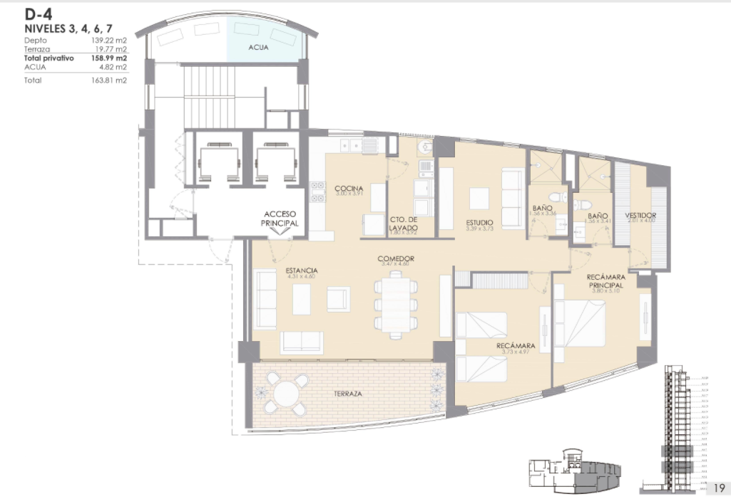 MLS-DCA203 Excelente oportunidad de inversion, Condo a la venta en Cancun Departamento de lujo ubicado dentro de Puerto Cancun, un residencial privado cerca de las zonas mas exclusivas de Cancun. Este desarrollo cuenta con acabados que destacan la exclusividad y confort. Sus amplias terrazas te permiten disfrutar de un hermoso paisaje y de una convivencia al aire libre. Cuenta con amplios jardines, un lobby y gimnasio. Fuera de la torre, se encuentra una piscina de nado y una alberca recreativa, un asoleadero, baños y áreas de convivencia donde el verde predomina con su bella vista al campo de golf. Este departamento te frece extraordinarias amenidades con espacios amplios en un ambiente agradable donde encontrarás sin duda, tranquilidad y confort. amenidades •Seguridad 24/7 •Lobby •Cuarto de juegos •Alberca de nado y recreativa •Asoleadero •Grandes jardines •Spa y sauna •Gym •Cancha de Paddle Tennis •Cancha de fútbol y basquetbol •Business center •Kids club •Salón de usos múltiples •Bodega •Estacionamiento •subterráneo y de visita 2 recamaras 2 baños 158 m2 $ 6,901,000 MXN ($ 363,211 USD) 3 PENTHOUSE recamaras 3 y un medio baño 313 m2 $ 12,844,000 MXN ($ 676,000 USD) El precio puede cambiar de acuerdo a la disponibilidad, demanda y al avance de la obra, contactanos para confirmar el precio actual. #iowncancun #cancunrealstate #cancuncondos  #puertocancun #cancuncondominiums #cancunbroker #cancunlisting #cancunrealty #cancun #cancunlifestyle #Luxurycancun. EasyBroker ID: EB-EA0253 1