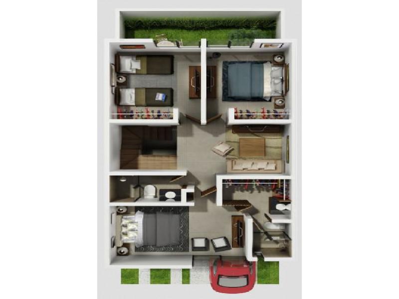 Hermosa casa en venta dentro de un fraccionamiento residencial, cuenta con amplias áreas verdes, alberca, área social aparatos de ejercicio, etc. La casa se distribuye de la siguiente manera: *Planta baja - Cochera para 2 autos - 1/2 baño - Sala - Comedor - Cocina equipada - Clóset de blancos - Área de lavado en interior - Amplio Jardín * Planta alta - 3 recámaras (Principal con baño y vestidor) - 2 baños completos - Estudio * Roof Garden - Sala de TV - Azotea para servicios - Pergolado ¡Se aceptan créditos!  NO SE COMPARTE COMISIÓN 3