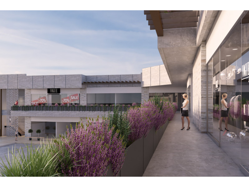 Plaza comercial en construccion, entrega Abril del 2018, estilo modernista, con 2 niveles de estacionamiento y 22 locales comerciales en renta, reestriccion unicamente en giros de restaurante y no se permiten giros repetidos.                                                                                                                   3