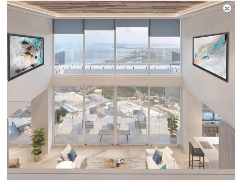 MLS-DCA207-1  Penthouse de 4 recamaras y 2 niveles con vistas panorámicas y amenidades de lujo en Puerto Cancun  Exclusivo complejo residencial de 2 edificios, 18 pisos cada uno, ubicado en Puerto Cancun, el residencial mas exclusivo de Cancun , con marina, plaza comercial y campo de golf.Ubicado en la entrada de la Zona Hotelera y el centro de la ciudad, puedes encontrar todo a tu alrededor.  Departamentos inteligentes con acabados de lujo y diseńo de vanguardia.  Ventanas anticiclonicas  de piso a techo que permiten la entrada de luz natural 360 grados.  270 grados de vistas panorámicas , al mar , los canales, reserva ecológica y la ciudad.  A pasos de la Plaza Marina Town Center  Todos los departamentos cuentan con cuarto de servicio y cuarto de lavado.  Amplia terraza con vistas al campo de golf.  Acabados: Pisos de mármol en todas las estancias · Revestimiento de mármol en los baños · Sanitarios y grifería de gama alta Resistencia con rotura puente térmico y ahorro energético  Carpintería de madera con acabado roble en gris  Paquete de demótica inteligente  Control de iluminación, accesos, aire acondicionado, de persianas y sonido  Accesorios eléctricos de alta calidad  Accesorio BTicinio de alta gama con tomas HDMI y dimerizadores de luz  Cocina italiana de diseño  Amenidades: Terraza con Jacuzzi, Restaurante, Spa con vistas panorámicas, sala de masaje piscina relax, sauna, vapor y estetica Gym por torre con vistas panorámicas y aparatos de primer nivel, Salón de usos multiples Teens-Sala de jóvenes  Alberca para niños, Carril de nado ,Bodega por departamento Cancha de paddle, Juegos infantiles al aire libre  Alberca para adultos con Wet Bar y asoleadero   Ademas como propietario de Puerto Cancun tienes acceso a las siguientes amenidades: Canales marítimos Mar Club de playa Marina Campo de golf Plaza comercial Escuela de deportes acuáticos  Precios: 3 Recamaras  4.5 Bańos  200m2 Interior  56m2 Terraza   Total 256 m2 14'130,000 Pesos (764,000 USD)  Penthouse  2