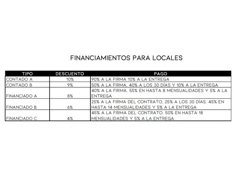 Local Comercial Preventa Capital Norte L6 $4,048,514 Fercha E1  Excelente local comercial en desarrollo de 58 departamentos  Local 6 Nivel:  Planta baja m2 de construcción:  86.54m2  Precio de lista: $4,048,513.24 pesos (incluye IVA) FECHA DE ENTREGA: Agosto 2021 (aprox)  Es un desarrollo ubicado dentro de Capital Norte (con acceso rápido a los principales servicios) que ofrece el balance perfecto entre la vida de ciudad y la calma de la naturaleza. Son 58 departamentos en  dos torres de 11 niveles, cada torre tiene su propio lobby, gimnasio, sala de juegos, kids roof y roof garden; Ambas torres se conectan por un parque lineal convirtiendo así en el desarrollo con las amenidades más  superiores de la zona cuidando la exclusividad, calidad y seguridad.  Desarrollo mixto de 11 niveles y un sótano privado con capacidad para 100 cajones, la planta baja contempla el área comercial y el primer nivel amenidades. Liberando las vistas de los 58 departamentos hacia el noroeste de la ciudad.  A demás tendrás rápido acceso a todos los servicios:  Colegios Universidades Centros comerciales Super mercado Campo de golf Restaurante  Nota: SOLO PARTICULARES.  *Precios e imágenes expuestos son soló de referencia. **Disponibilidad y precios sujetos a cambio sin previo aviso. Solicita lista de disponibilidad actualizada. ****Consulta planes de financiamiento y formas de pago. 6